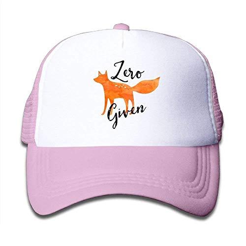 Aeykis Einstellbare Baseball Mesh Cap Zero Fox gegeben Trucker Hat für Kinder GF999 Fußball Mesh Trucker Hat-cap