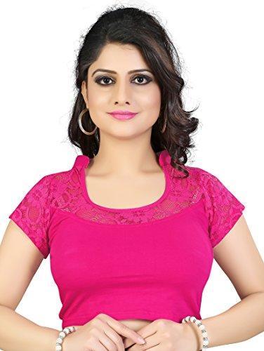 Pre-Smart cotton lycra designer Readymade blouse (Rani)