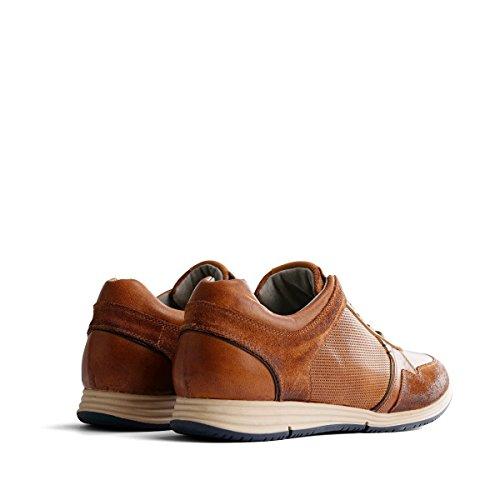 733a0a8bdf11c0 Travelin  Corton Leather Sneaker Schnürhalbschuhe Herren ...