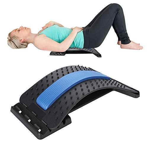 Dispositivo barella lombare posteriore, barella posteriore lombare/massaggiatore posteriore supporto lombare trazione stretching rilassare il cuscino di decompressione spinale