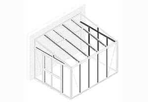Vitavia Nachrüstsatz Helena 7000 alu Produkt: Pavillon- Nachrüstsatz Helena Rostfrei: Ja Ausführung: Aluminium Farbe: blank eloxiert