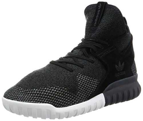 adidas Herren Tubular X PK Basketballschuhe, Schwarz (C Black/Dk Grey/Chsogr), 44 2/3 EU (Adidas-basketball-schuhe Schwarz)