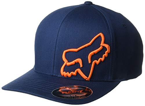 Fox Herren Flex 45 Flexfit HAT Baseball Cap, Dark Brown/Black/White, L/XL -