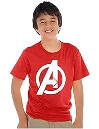 Avaatar Cotton Superhero t Shirt for Kids