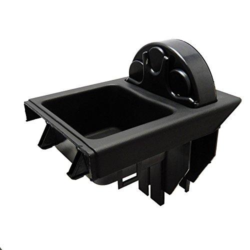 Globalflashdeal Schwarze Vorderseite Box Zum E46 3 Serie Auto-Center-Konsole Speicher 51168217957