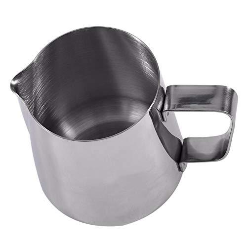 COPP 350 ML / 600 ML Edelstahl Aufschäumen Pitcher Pull Blume Tasse Cappuccino Kochen Werkzeuge Home Küche Zubehör, A (Küche Pulls Tasse)