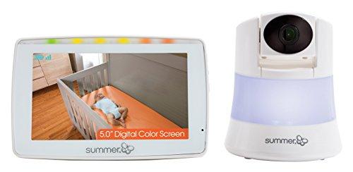 Summer Infant WIDE VIEW 2.0™ - Baby-Monitor Video a Colori con Videocamera a OBIETTIVO GRANDANGOLARE!