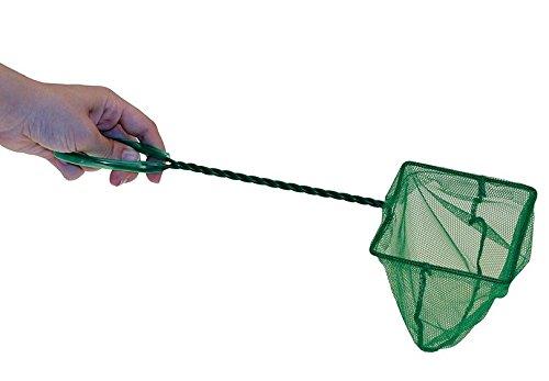 Milopon Fish Net Fisch Kescher hochwertiges Fangnetz aus reißfestem Nylon für Aquarien Netz Garnelen Garnelenkescher size 23*8*10CM