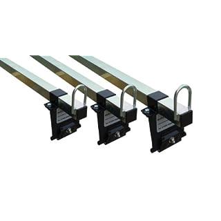 FORD TRANSIT Van Roof Rack 3 Bars - LOW ROOF (01-12) VAN - Autorack Mega-Bars