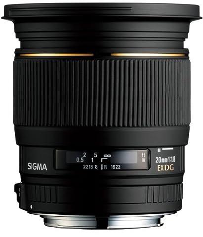 Sigma 20 mm F1,8 EX aspherical DG-Objektiv (82 mm Filtergewinde) für Canon Objektivbajonett