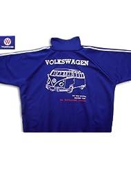 Tucuman Aventura - Sudadera Volkswagen (ROYAL/BLANCO, S)