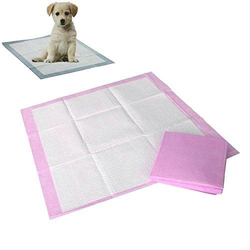 Artikelbild: 10er SET 33 x 45 cm Welpentoilette Welpenunterlagen Welpen Hunde WC Unterlagen