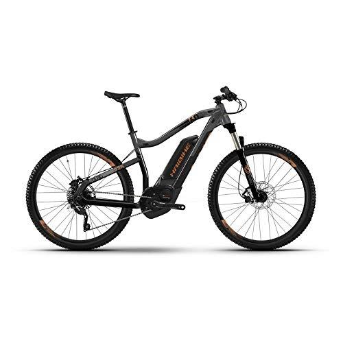 "Haibike Sduro HardNine 6.0 Pedelec E-Bike 2019 - Bicicleta eléctrica, 29\"", Color Negro, Gris y Bronce, Color Schwarz/Titan/Bronze, tamaño Medium, tamaño de Rueda 29.00"