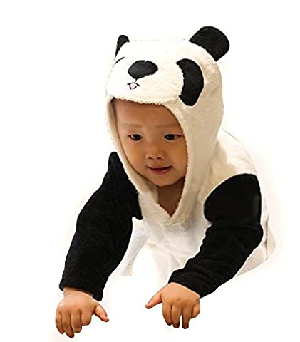 Bébé Panda - Kivors Bébé Garçon/Fille Mignon Animal Peignoir en