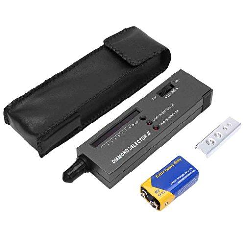 Topker Edelstein-Tester Selector II Edelsteine LED-Anzeige Test Schmuck Werkzeuge Messungen mit LCD Dsplay LED-Anzeige