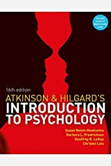 Atkinson & Hilgard's Introduction to Psychology: (with CourseMate and eBook Access Card) Paperback