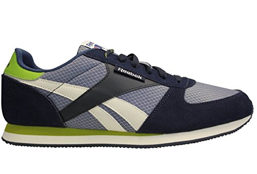 Reebok - Royal CL Jogger - Color: Azul-Blanco-Verde - Size: 44.0 Muu7t