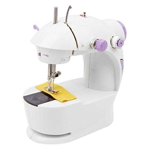kiki multi electric mini 4 in 1 desktop functional household sewing machine for home - 41zojB3MitL - KIKI Multi Electric Mini 4 in 1 Desktop Functional Household Sewing Machine for Home