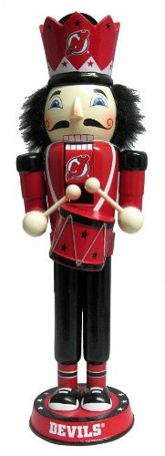 Forever Collectibles NHL New Jersey Devils 14 Drummer Nussknacker, rot