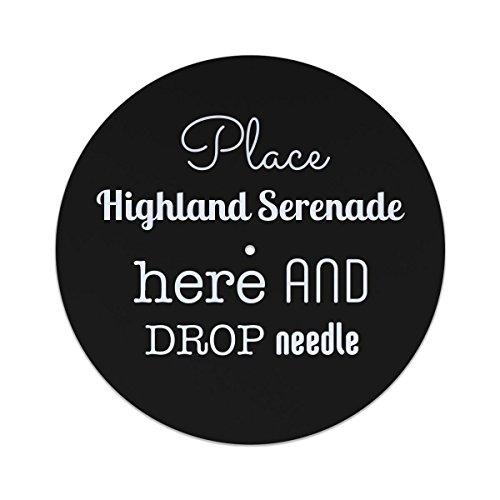 Place Highland Serenade hier legen und die Nadel obligatorischen Rutschmatten 7 inches (Highland Place)