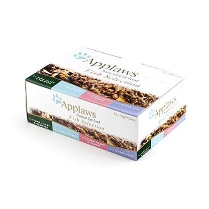 Applaws Cat Food Tin Fish Selection Pack 12 x 70g (Bulk deal of 4) 3360g 1