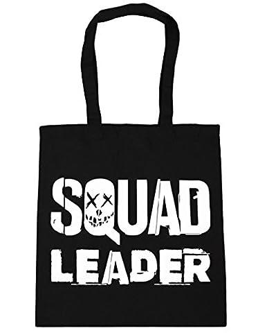 HippoWarehouse Squad Leader Tote Shopping Gym Beach Bag 42cm x38cm, 10 litres