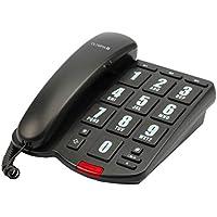 OLYMPIA 4205  Schnurgebundenes Großtasten Telefon schwarz