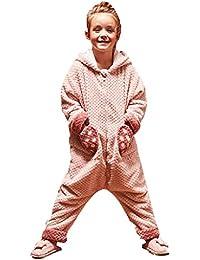 bfe3e791f Camisones Ropa para Dormir y Batas Pijamas para niños Pijamas de Lana de  Coral para niñas