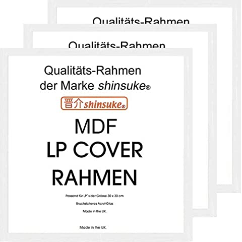 3 pcs Shinsuke Cadre 3 cm 534200 LP (MDF) 31,5 x 31,5 cm