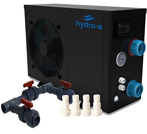 Bevo Wärmepumpe, Hydro-S 3 plus Bypass-Set, schwarz, 75 x 29 x 50 cm, 7018517 + 7009802