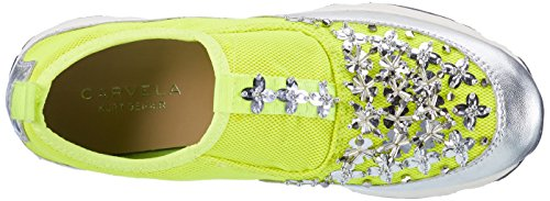 Carvela Lola NP, Sneaker Donna Gelb (Yellow)