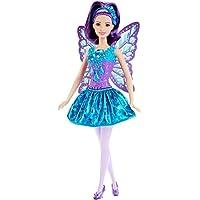 Barbie - Muñeca, vestido de hada, color arcoíris (Mattel DHM55)