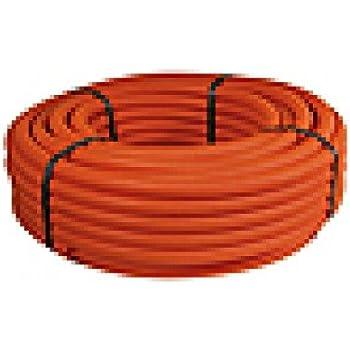 kabelschutzrohr elektrorohr installationsrohr wellrohr flexibel m32 orange 50m leichte. Black Bedroom Furniture Sets. Home Design Ideas