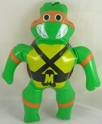 40cm Klassiker Teenage Mutant Ninja Turtles Aufblasbares Spielzeug - Orange Turtle - Michelangelo