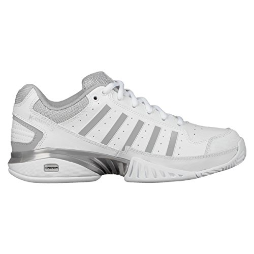 low cost 874d5 09ce6 K-Swiss Performance Damen Receiver IV Tennisschuhe, Weiß (White Highrise  107m)
