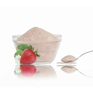 1kg roter Erdbeer Zucker für Zuckerwatte,Popcorn oder Süßspeisen