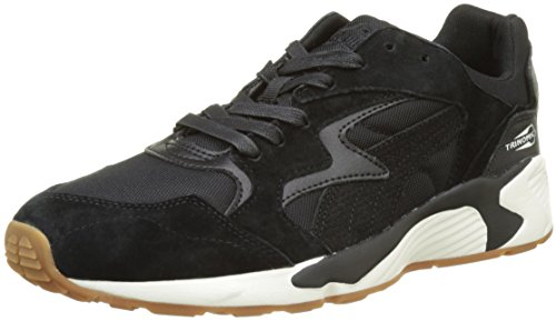 Puma Unisex-Erwachsene Prevail Citi Low-Top Schwarz (puma black-puma black-whisper white 01)