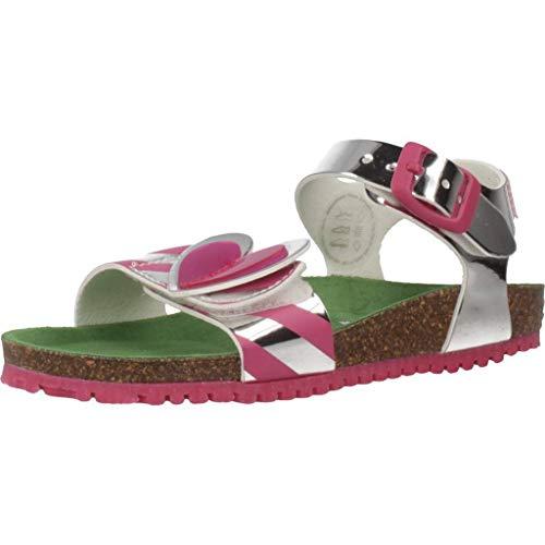 Agatha Ruiz De La Prada Sandalen/Sandaletten Mädchen, Farbe Silber, Marke, Modell Sandalen/Sandaletten Mädchen 192983 Silber