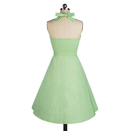 Sparkling YXB - Robe - Cocktail - Sans Manche - Femme Vert - Vert