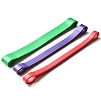 3PCS Resistance Bands High Quality Yoga Latex Resistance Bands Fitness Loop Rope Stretch Band Crossfit Elastic Resistance Band For Body building Men Women Yoga Exercise Fitness Band