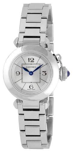 Cartier W3140007 - Orologio da polso, acciaio inox, colore: argento