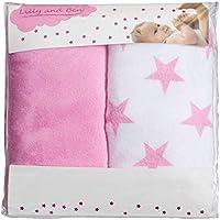 Funda para cambiador bebe - 2 fundas para colchoneta cambiador funda bañera 50x70 50x80 toalla ajustable a cambiadores