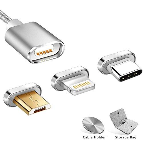 Magnetische Kabel Nylon Micro Usb Magnet Kabel Für Huawei P20 Lite Daten Ladegerät Kabel Für Xiaomi Samsung Iphone Handy Kabel Feine Verarbeitung Handy Kabel