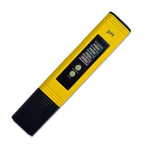 PH-Messgerät, 0,01-Auflösung, großes LCD, Wasser-Qualität-Tester mit Auto-Kalibrierungs-Funktion und 0,00–14,00-Messbereich