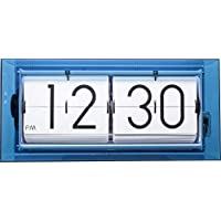 Nextime Gran Reloj de Pared o de Mesa Big Flip Clear, Digital, acrílico,