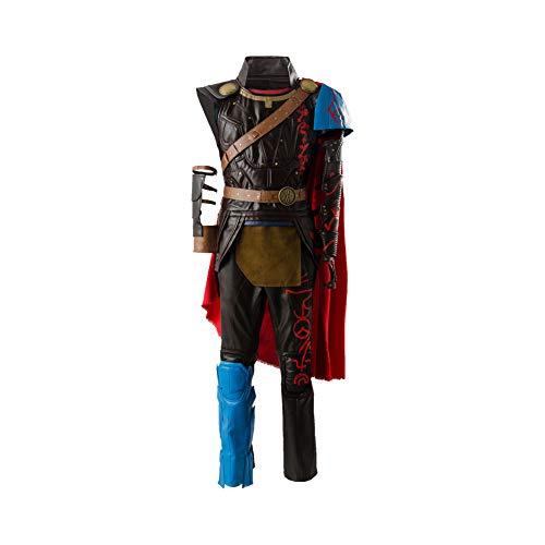 Thor Kostüm Für Erwachsene - Manfu Thor 3 Ragnarok Thor Outfit Full Set Cosplay Kostüm XL