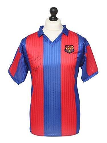 Ronald-Koeman-Signed-Barcelona-Shirt-Autograph-Retro-Jersey-Memorabilia-COA