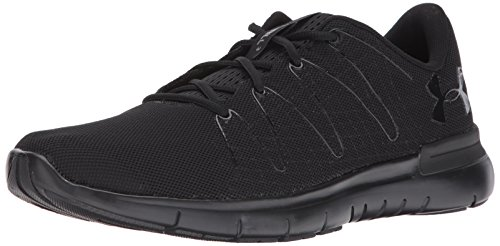 Under Armour UA Thrill 3, Zapatillas de Running para Hombre, Negro Black 003, 46 EU