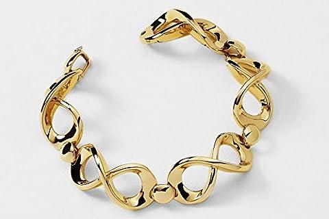 Orogenesi bracelet en or 18 kt représenté par le symbole de l'infini
