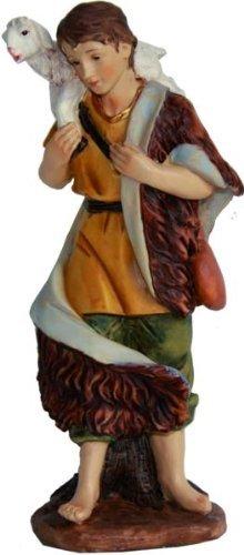 Hirten Für Erwachsenen Kostüm - Hirte mit Schaf auf Schulter, für 11cm Figuren